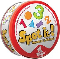 Spot It: Numbers and Shapes (Tin) - Cover