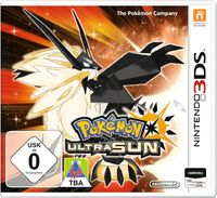 Pokémon Ultra Sun (3DS) - Cover