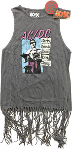 AC/DC -  DDDDC Vintage Ladies Tassel Dress (Large) - Cover