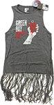Green Day - American Idiot Vintage Ladies Tassel Dress (Small)