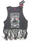 Pink Floyd - Carnegie Hall Ladies Babydoll Tassel Vest (X-Large)