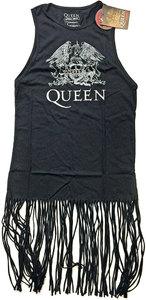 Queen - Crest Vintage Ladies Tassel Dress (Small) - Cover
