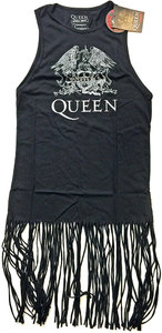 Queen - Crest Vintage Ladies Tassel Dress (Large) - Cover