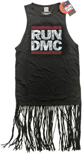 Run DMC - Logo Vintage Ladies Tassel Dress (Small) - Cover