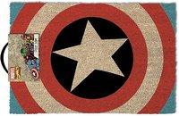 Captain America - Shield Door Mat - Cover