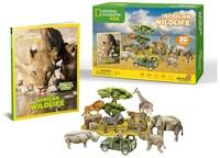 CubicFun - African Wildlife 3D Puzzle (69 Pieces) - Cover