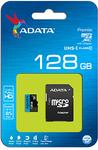 ADATA - Premier 128GB MicroSDXC with SDXC Adapter Memory Card