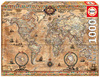 Educa - Antique World Map Puzzle (1000 Pieces)