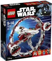 LEGO® Star Wars - Jedi Starfighter with Hyperdrive (825 Pieces) - Cover
