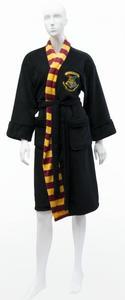 Harry Potter - Hogwarts Ladies Fleece Robe (Black) - Cover