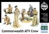 Masterbox - 1/35 - Commonwealth AFV Crew (Plastic Model Kit)