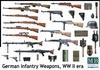 Masterbox - 1/35 - German Infantry Weapons WW II era (Plastic Model Kit)
