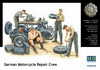 Masterbox - 1/35 - German Motorcycle Repair Crew (Plastic Model Kit)