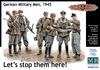 Masterbox - 1/35 - German Soldiers, 1945 – Lets stop them here! (Plastic Model Kit)