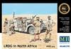Masterbox - 1/35 - LRDG in North Africa, WWII era (Plastic Model Kit)