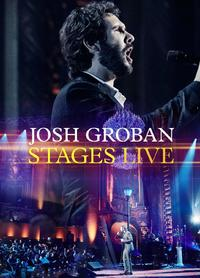 Josh Groban - Stages Live (CD) - Cover