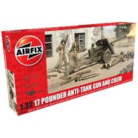 Airfix - 1/32 - 17 PDR Anti-Tank Gun (Plastic Model Kit)