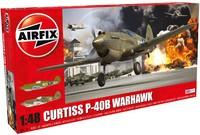 Airfix - 1/48 - Curtiss P-40B Warhawk (Plastic Model Kit) - Cover