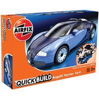 Airfix - Quickbuild - Bugatti Veyron (Plastic Model Kit)