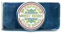The Beatles - Sgt Pepper Money Clip (Chrome) - Cover