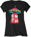 Bring Me The Horizon - Alien Ladies Black T-Shirt (Medium)