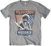 Jimi Hendrix - Electric Ladyland Mens Grey T-Shirt (Medium)