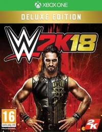 WWE 2K18 (Xbox One) - Cover