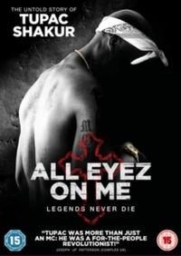 All Eyez On Me (DVD) - Cover