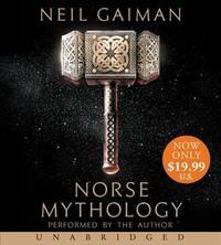 Norse Mythology - Neil Gaiman (CD/Spoken Word) - Cover