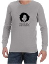 You Know Nothing Mens Long Sleeve T-Shirt Grey (Small)