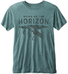 Bring Me The Horizon - Wound Mens Turquoise Burnout T-Shirt (X-Small)