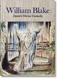 William Blake. Dante's `Divine Comedy'. the Complete Drawings - Sebastian Schutze (Hardcover) - Cover