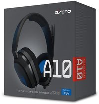 Astro Gaming Headset A10 - Grey/Blue (PS4)