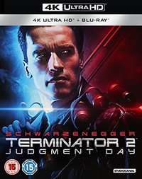 Terminator 2 - Judgment Day (4K Ultra HD + Blu-ray) - Cover