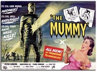 The Mummy Original Film Poster Fridge Magnet (1959) - Cover