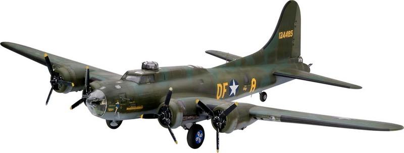 Revell 04297 B-17F Memphis Belle Model Kit