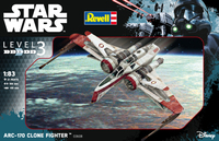 Revell - 1/83 - Star Wars: ARC -170 Fighter (Plastic Model Kit) - Cover