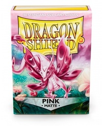 Dragon Shield - Standard Sleeves - Matte Pink (60 Sleeves) - Cover