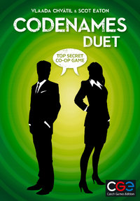 Codenames - Duet (Card Game) - Cover