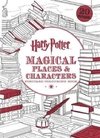 Harry Potter Magical Places & Characters Postcard Colouring Book - Warner Brothers (Paperback)