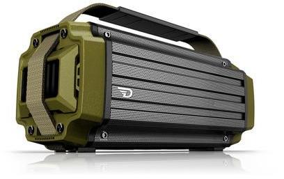 DreamWave TREMOR High Performance 8 Watt Bluetooth Speaker System (Army  Green)