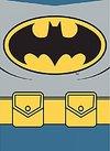 DC Comics - Batman Costume Magnet Metal