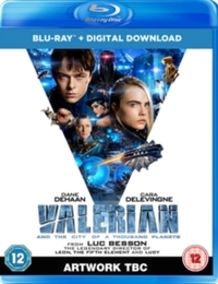 Valerian and the City of a Thousand Planets (Blu-ray) - Cover