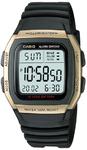 Casio 10 Year Battery 50m Digital Watch - Black