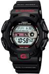Casio G-Shock Gulfman Moon Tide 200m Digital Watch - Black