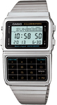 Casio Databank Digital Watch with 8-Digit Calculator - Silver