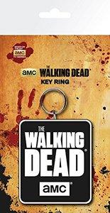 The Walking Dead - Logo Rubber Keyring - Cover