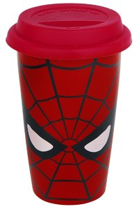 Marvel Retro - Spider-Man Eyes Ceramic Travel Mug - Cover