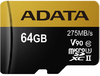 ADATA - Premier ONE V90 64GB miCroSDXC with SDXC adapter Memory Card