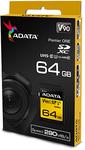 ADATA Premier ONE V90 64GB SDXC UHS-II Class 10 Memory Card